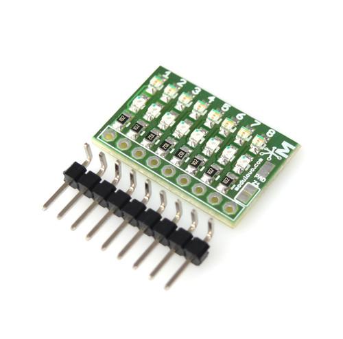 Modulogy - MOD-18.Z - 8-channel Bi-Directional Logic Level LED Tester - None