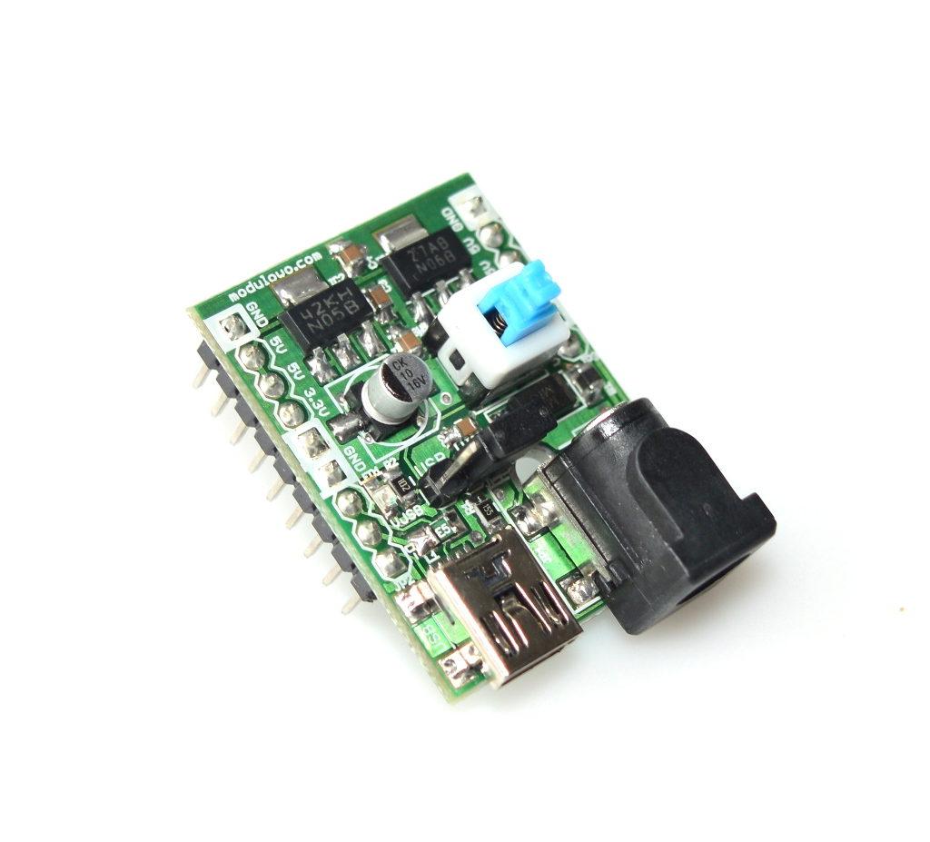 Modulogy - MOD-27.Z - Supply Power Breadboard 3.3V 5V - None