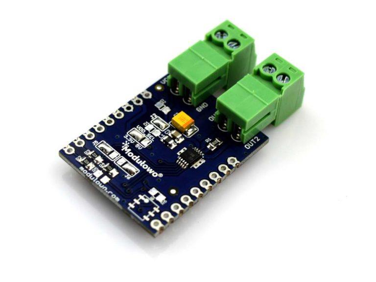 Modulogy - MOD-58 - Modulowo® DC MOTOR I2C Explore™ (with DRV8830) - None