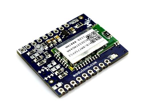 Modulogy - MOD-62 - Modulowo® Bluetooth LE 2 Explore™ (with BM77SPPS3MC2) - None